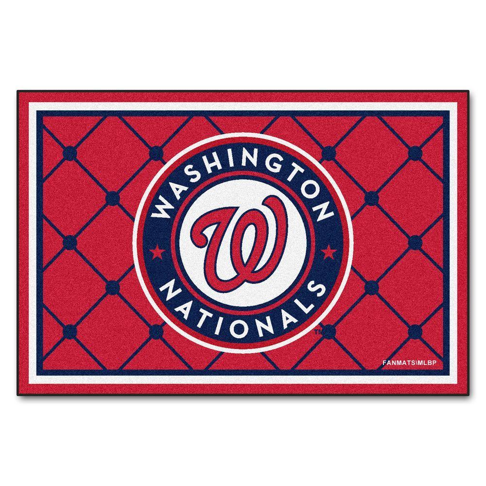 Washington Nationals 5 ft. x 8 ft. Area Rug