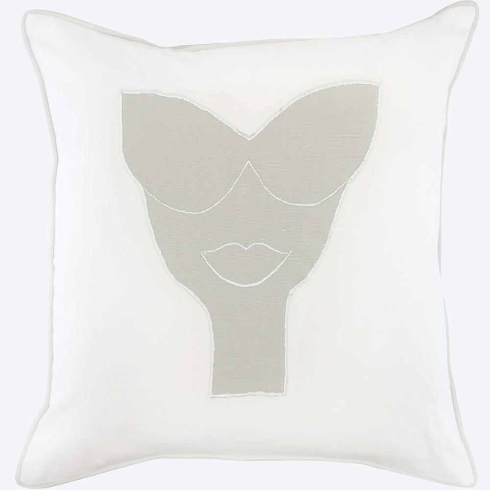 American Colors Appliqued Ms Glam Pillow