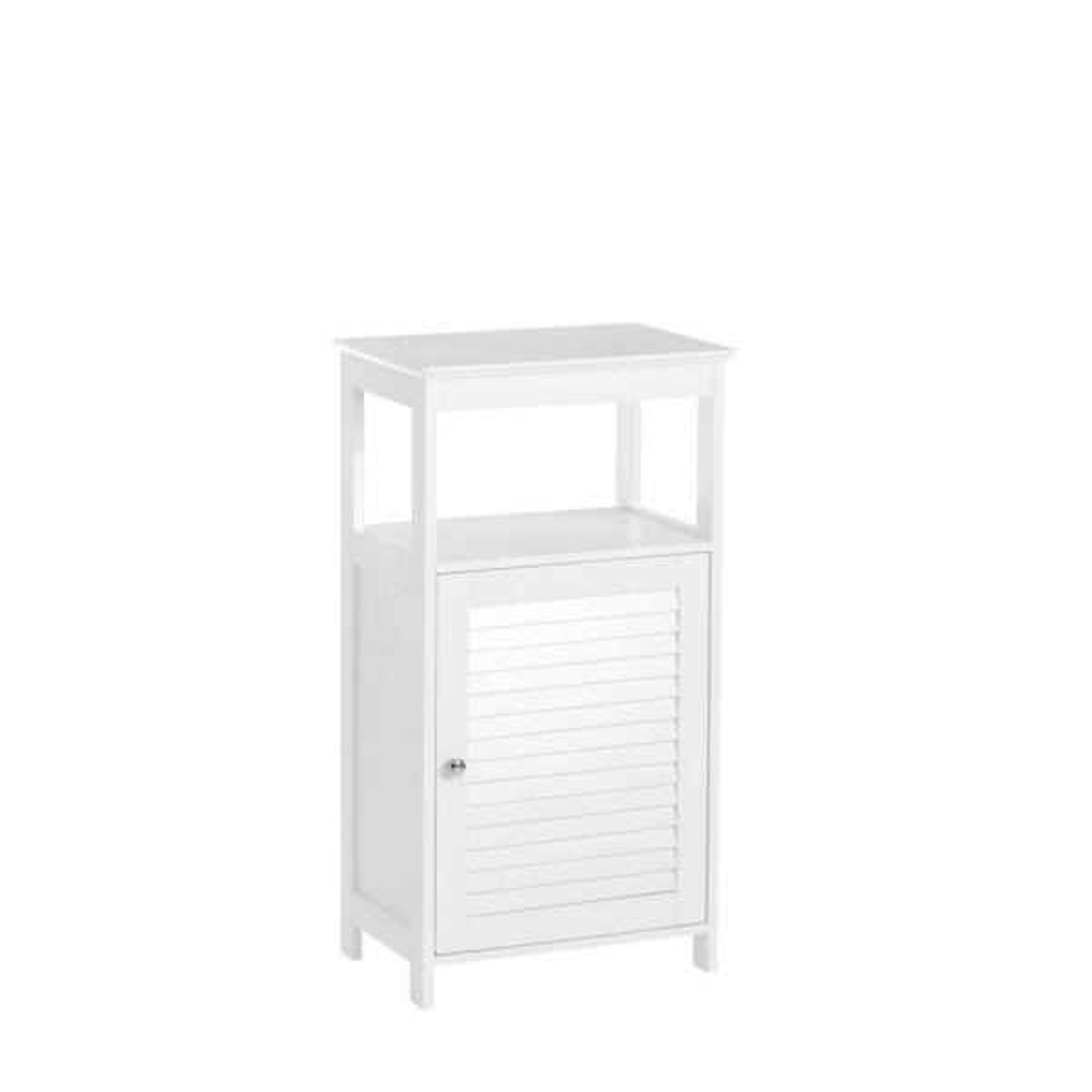 Ellsworth 18 in. W x 32-17/25 in. H x 11-4/5 in. D Bathroom Linen Storage Floor Cabinet in White