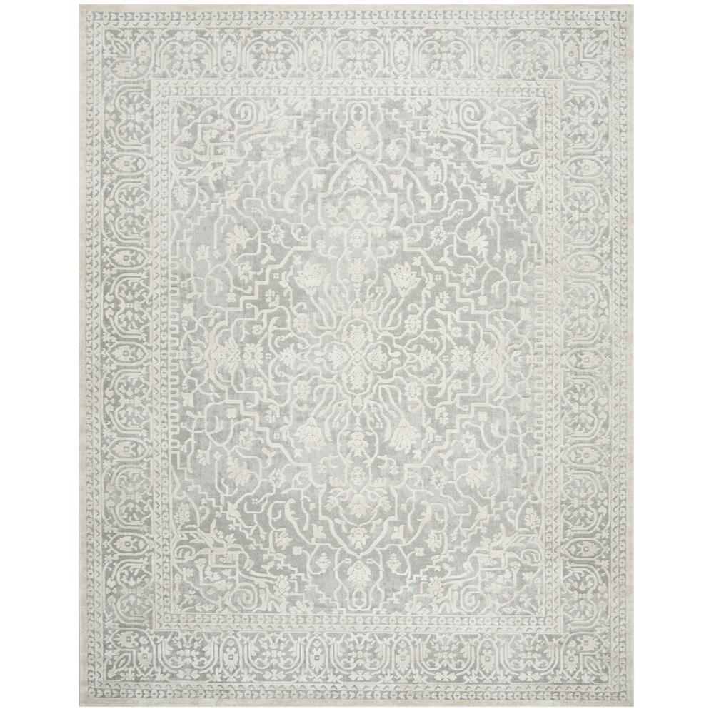 safavieh rugs 8x10. Safavieh Reflection Light Gray/Cream 8 Ft. X 10 Area Rug Rugs 8x10 Y