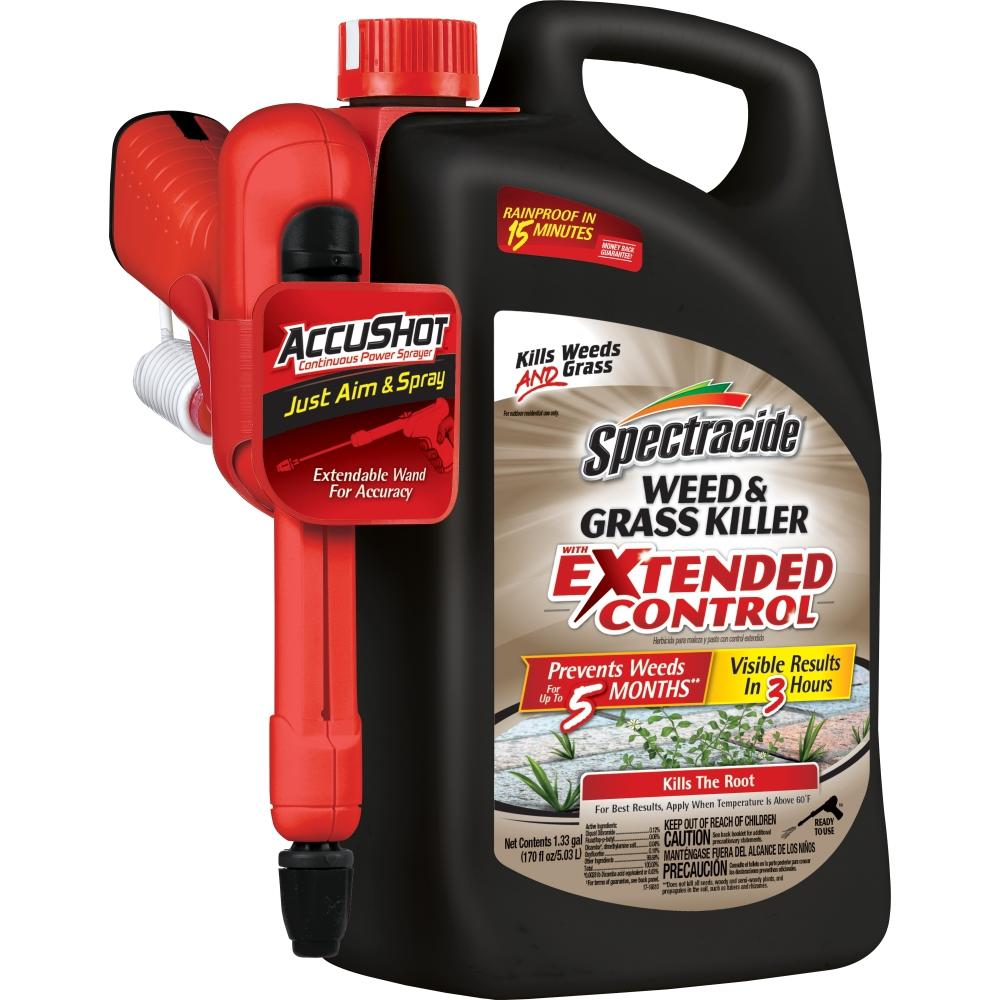 Spectracide Weed and Grass Killer 1.3 gal. Accushot Extended Control Sprayer