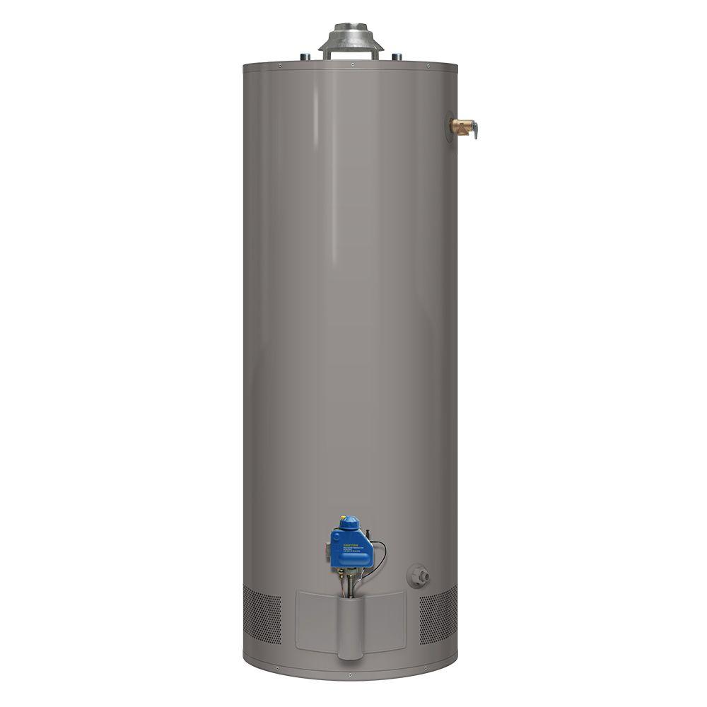 40 Gal. Tall 3 Year 34,000 BTU Natural Gas Tank Water