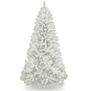 national tree company 75 ft north valley white spruce tree with clear lights nrvw7 302 75 the home depot - 75 White Christmas Tree