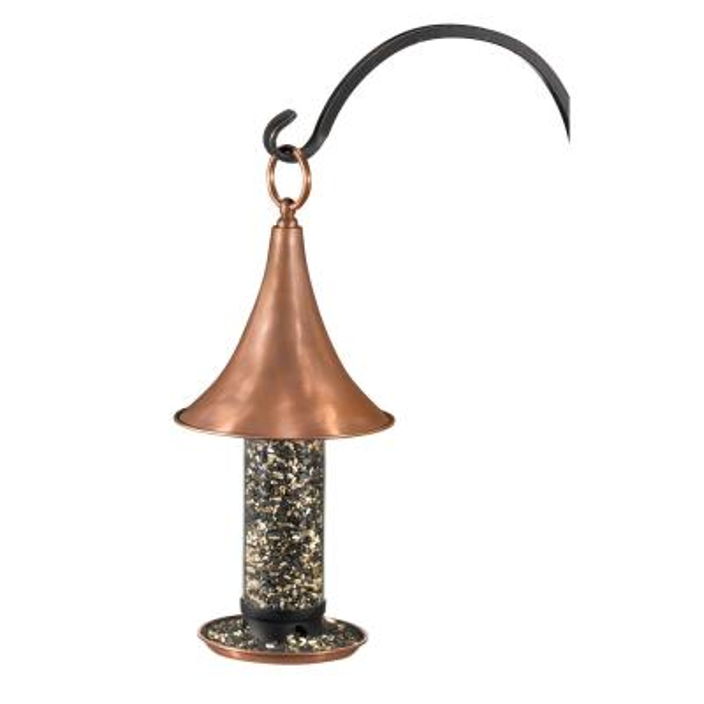 Polished Copper Castella Bird Feeder