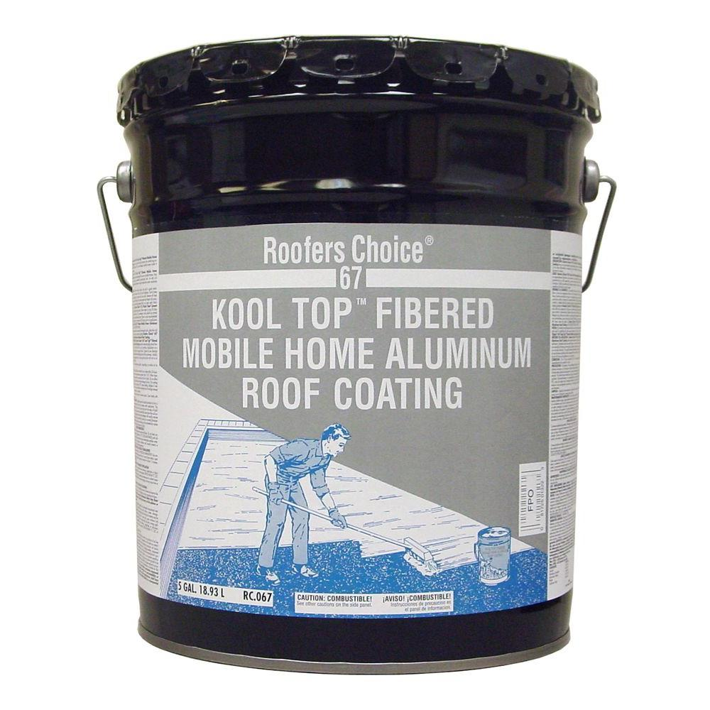Roofers Choice 4 75 Gal Mobile Home Aluminum Reflective