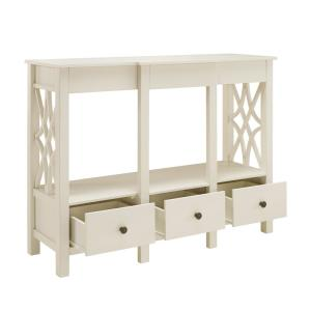 Sloane Antique White Tv Stand