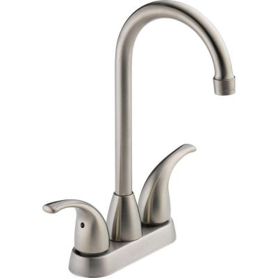 Choice 2-Handle Bar Faucet in Stainless