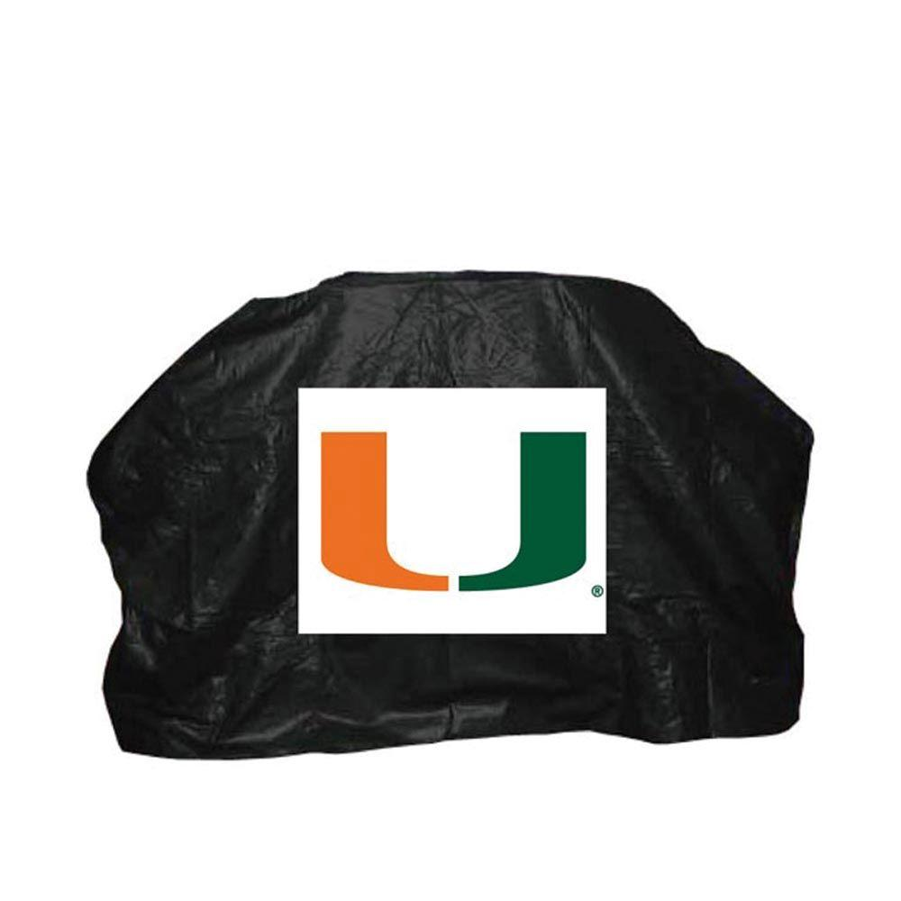 59 in. NCAA Miami Grill Cover