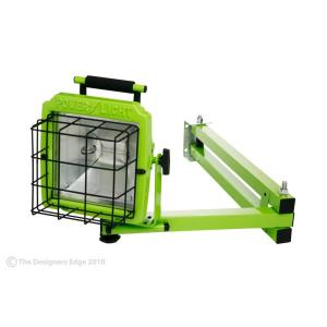 Click here to buy Designers Edge 500-Watt Dock Arm Worklight by Designers Edge.