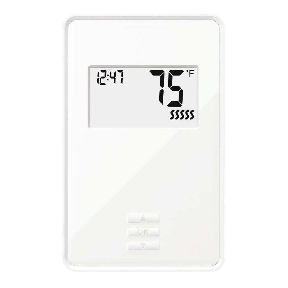 QuietWarmth Digital Non-Programmable Thermostat with Built-in GFCI