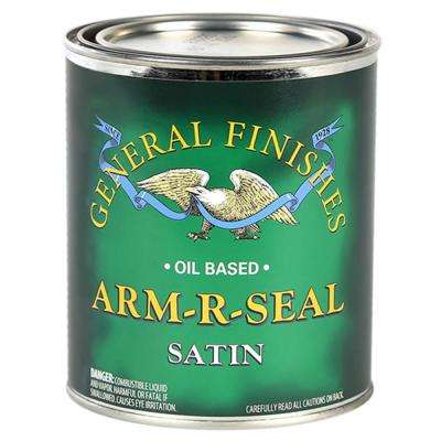 1 qt. Satin Arm-R-Seal Urethane Interior Topcoat