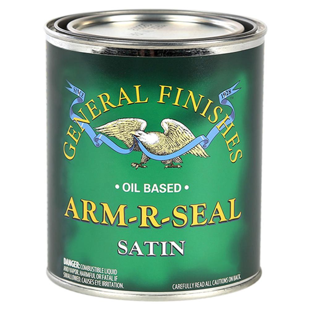 1-qt. Satin Arm-R-Seal Urethane Interior Topcoat