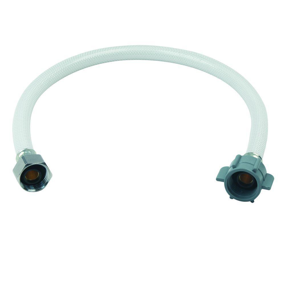1/2 in. FIP x 1/2 in. FIP x 20 in. Vinyl Faucet Connector