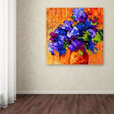 "35 in. x 35 in. ""Abbouquet"" by Marion Rose Printed Canvas Wall Art"