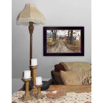 "10 in. x 14 in. ""The Road Home"" by Billy Jacobs Printed Framed Wall Art"
