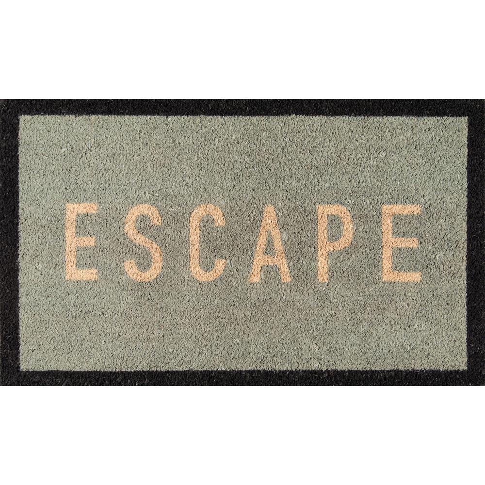 Escape Blue 18 in. x 30 in. Door Mat