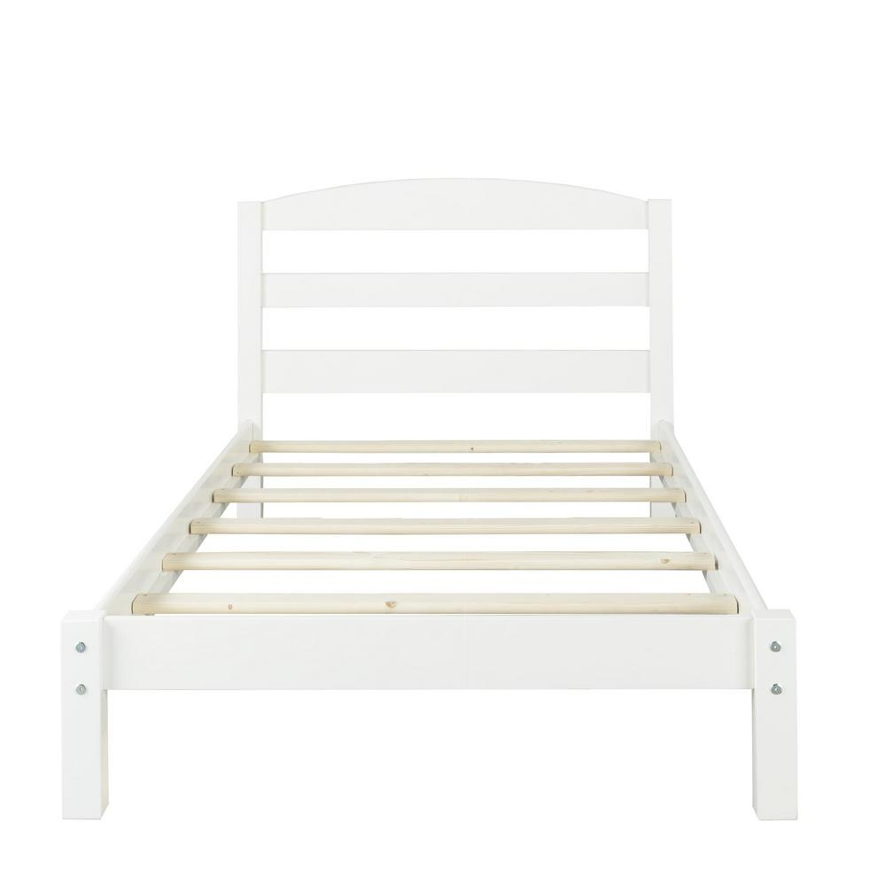 Dorel Braylon White Twin Size Bed Photo