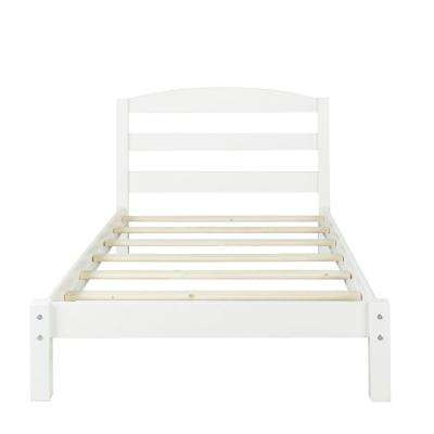Braylon White Twin Size Bed