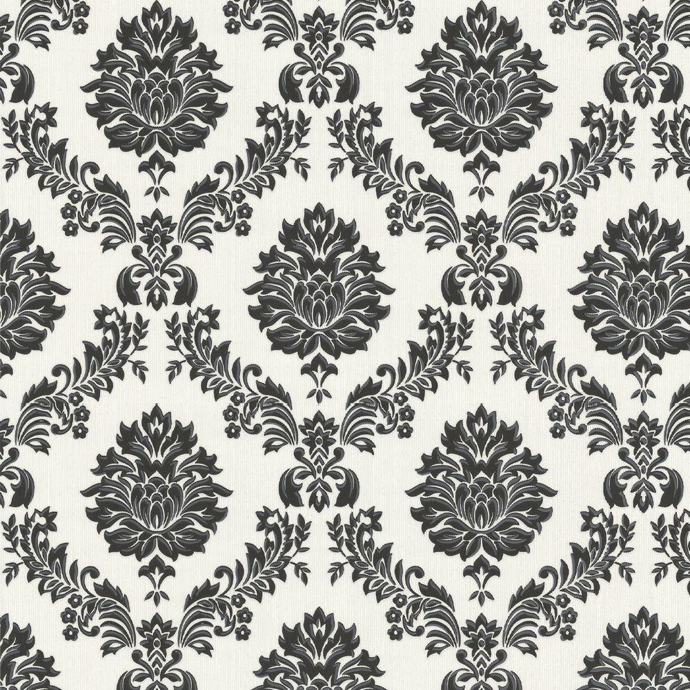 Graham & Brown Costello Black Wallpaper