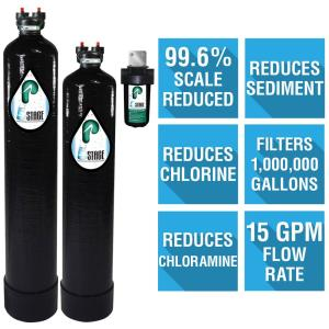 Pelican Water 15 GPM 5-Stage Whole House Water Filtration and NaturSoft Salt-Free Softener System by Pelican Water