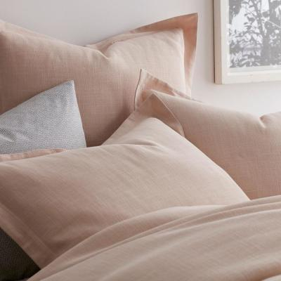 Asher Solid Cotton Duvet Cover Set