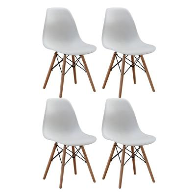 Nantes White DSW Dining Side Chair Set of 4