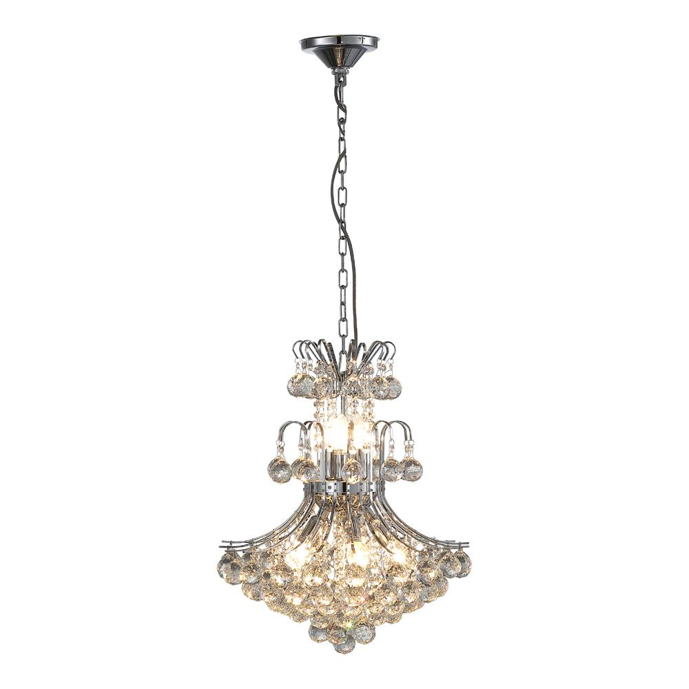 OVE Decors Windsor II 8-Light Chrome Chandelier