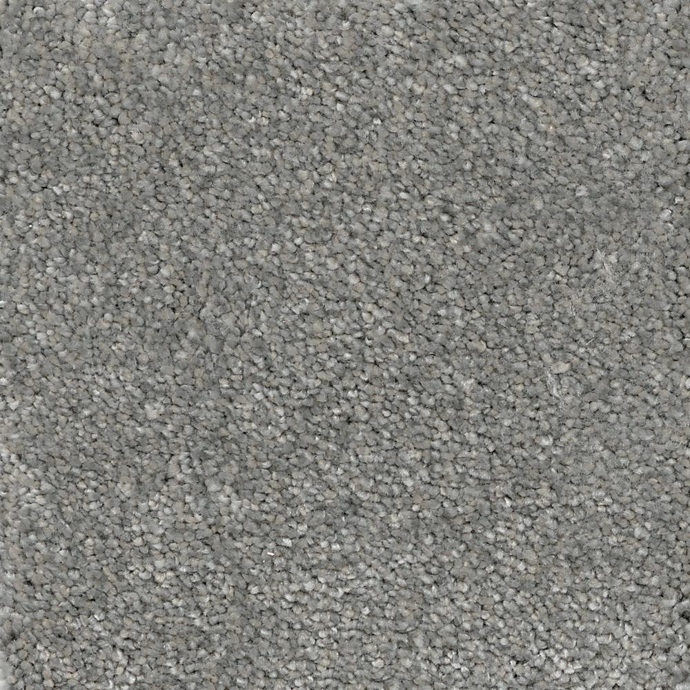 Home Decorators Collection Soft Breath II - Color Cayman Texture 12 ft. Carpet