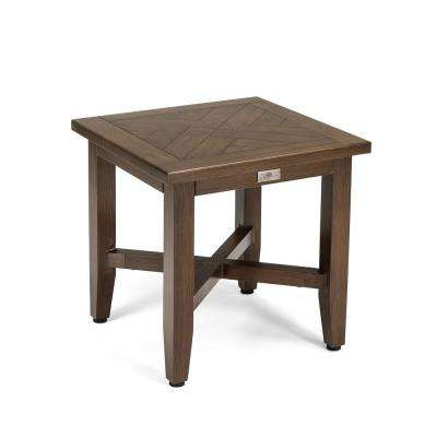 Bahamas Square Aluminum Outdoor Side Table