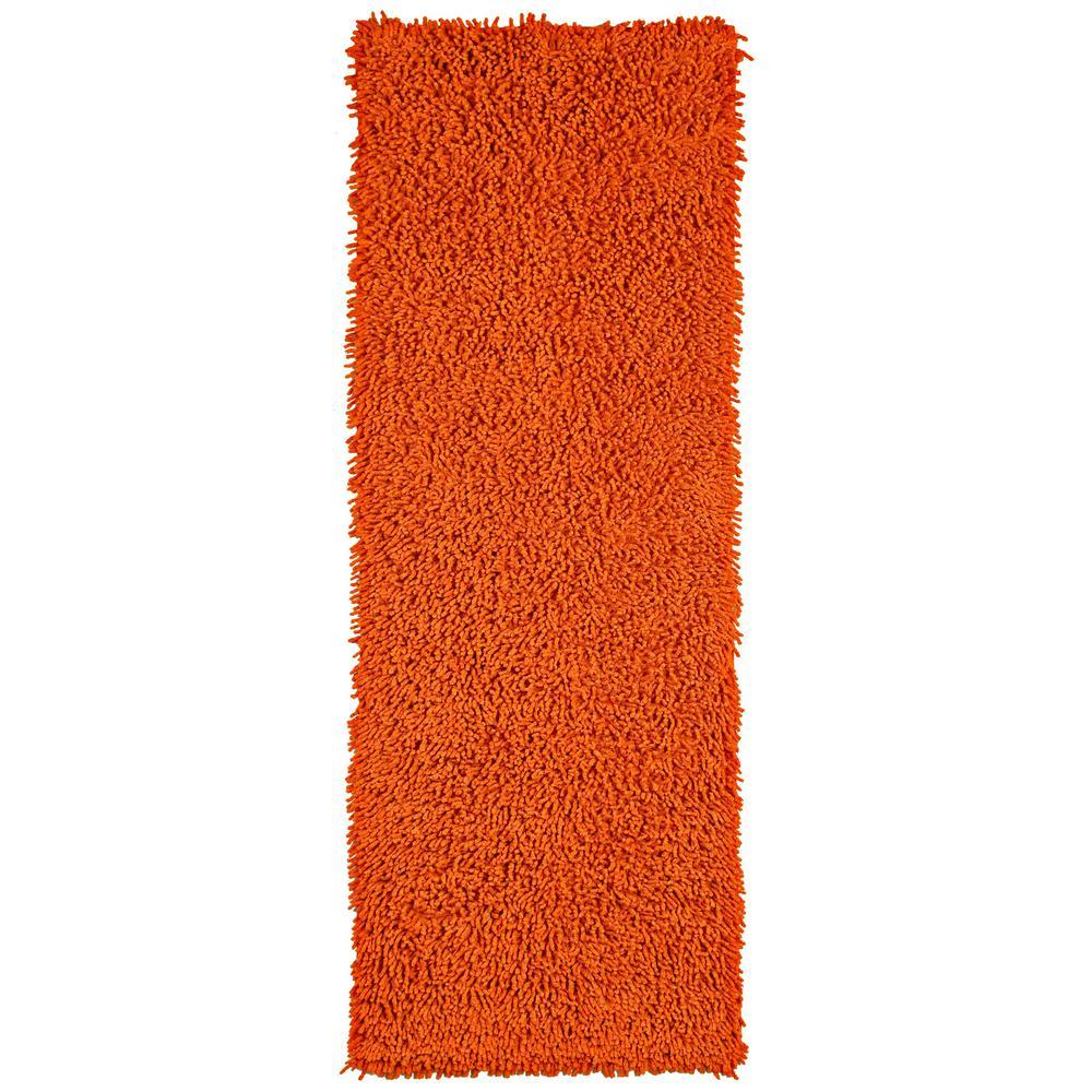 Copper Shag Chenille Twist 2 ft. x 5 ft. Runner Rug