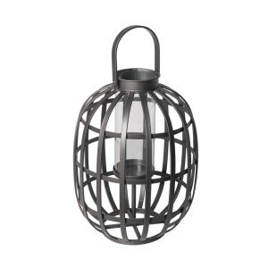 Deals on Hampton Bay Large Outdoor Metal Lantern D7LT00323A
