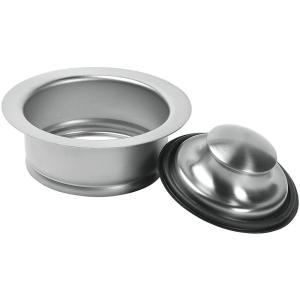 Glacier Bay Garbage Disposal Rim And Stopper In Brushed