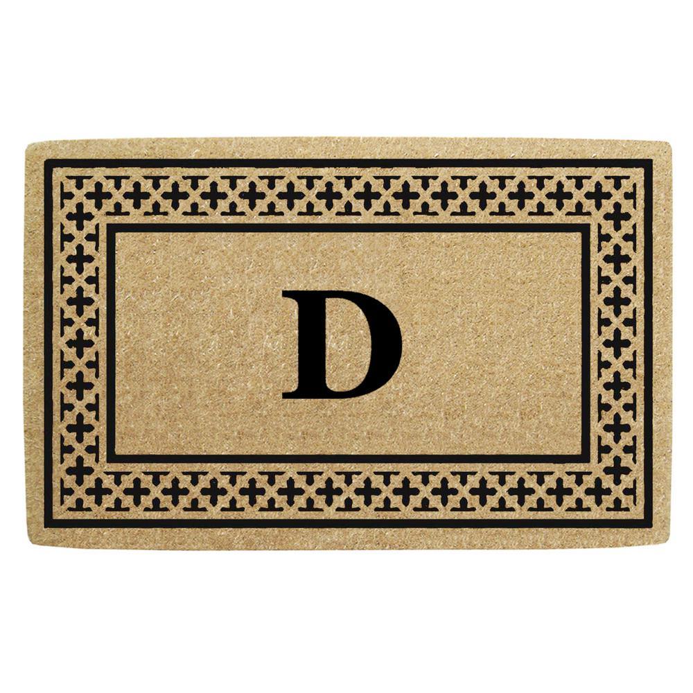 COTTONI Doormat Monogram Rug Inserts Mat Insert Bath Mat Kneeling Pad Doormat Monogram Rug Jute Mat Jiu Jitsu Bath Mat Kids Bathroom 3Pcs Non-Slip Bath Mat Bathroom Kitchen Carpet Doormats