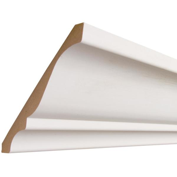 CoverTrim 5/8 in. x 5-1/4 in. x 96 in. MDF Crown Moulding