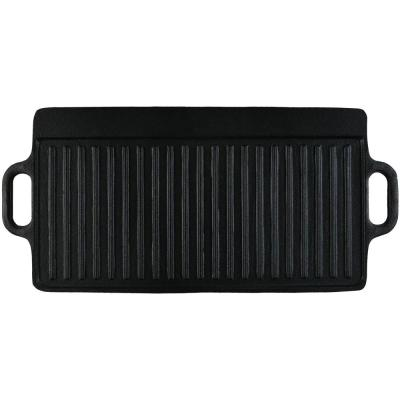 Cast Iron Reversible Pre-Seasoned Grill Griddle