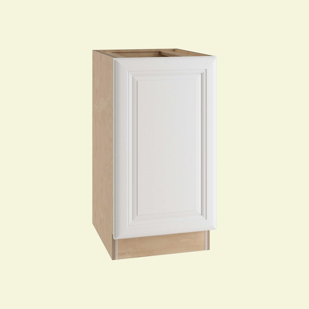 Brookfield Assembled 18x34.5x24 in. Single Pullout Wastebasket Base Kitchen
