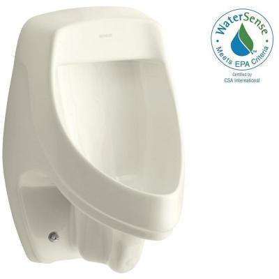 Dexter 0.5 or 1.0 GPF Urinal with Rear Spud in Biscuit