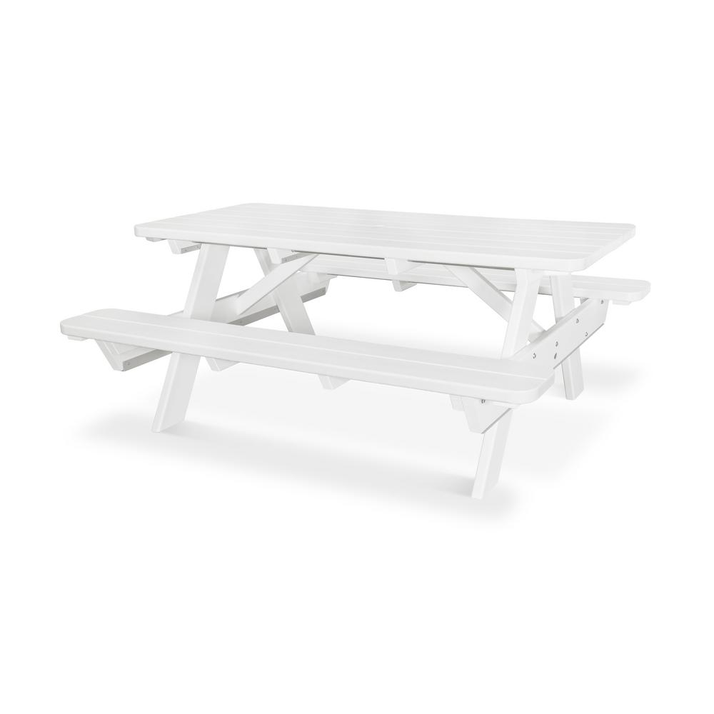 Stainless Steel Bathroom Vanity Cabinet, White Picnic Tables Patio Tables The Home Depot