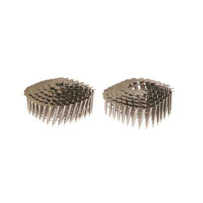 1-3/4 in. x 0.120 in. 15-Degree Wire Weld Coil Collated Ring Shank Roofing Nails (3,600-Pack)