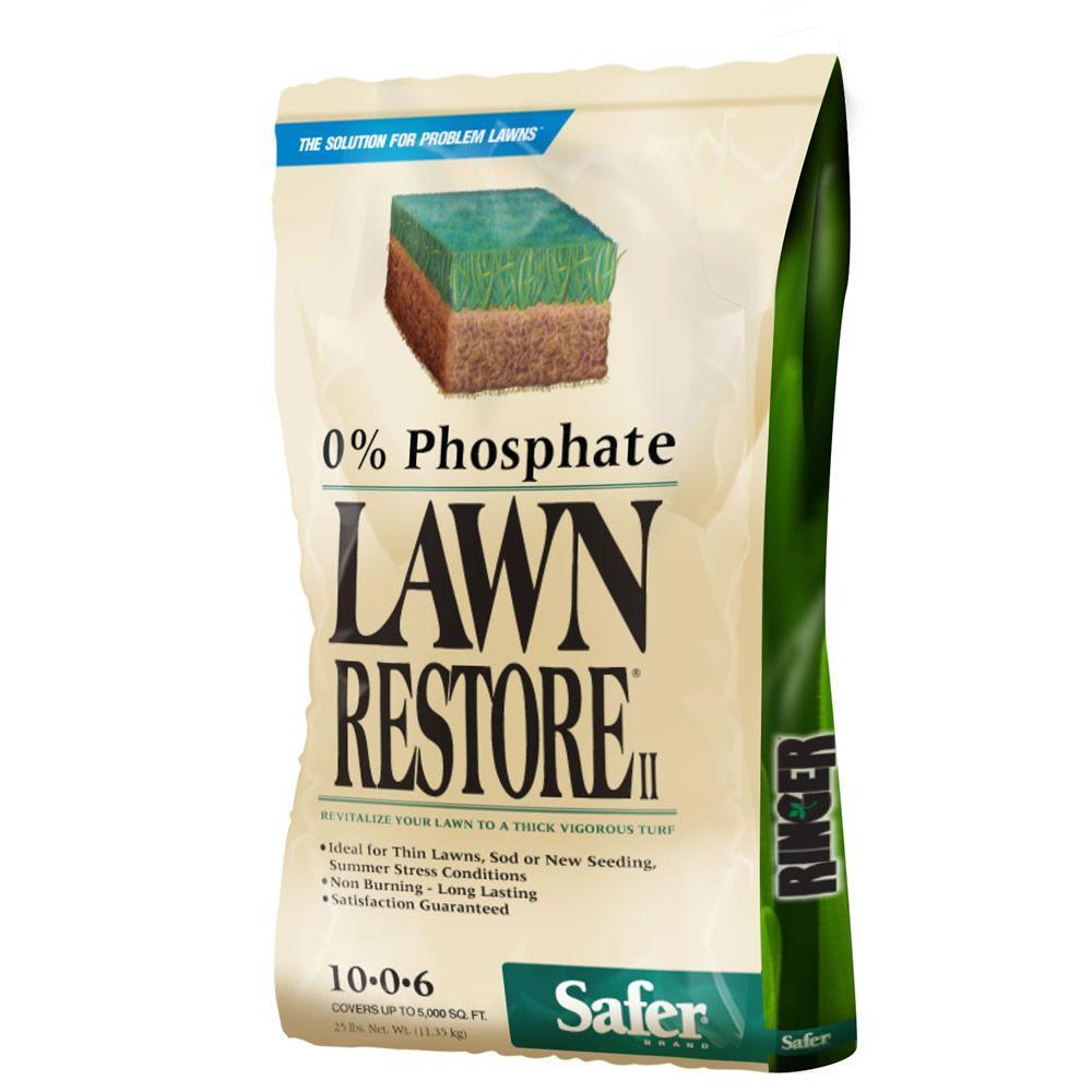 Safer Brand 25 lb. Ringer Lawn Restore II Fertilizer by Safer Brand