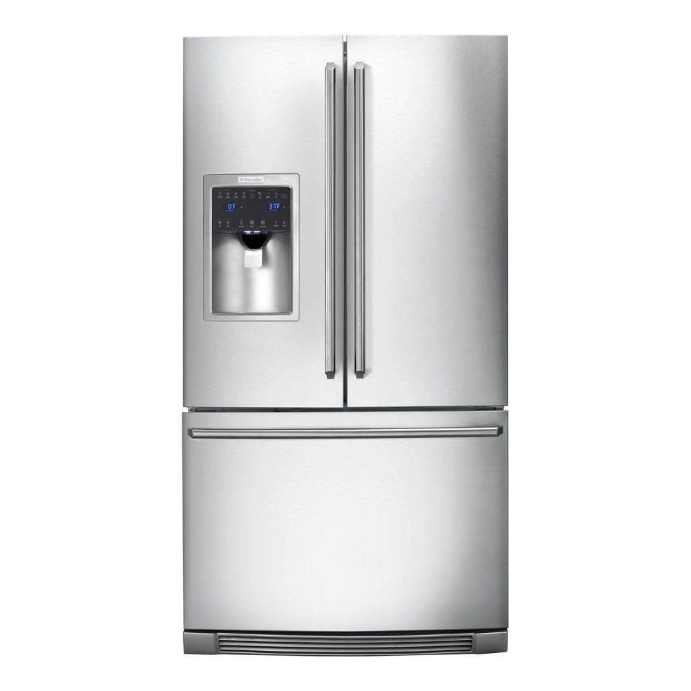 Electrolux IQ-Touch 21.93 cu. ft. French Door Refrigerator in Stainless Steel Counter Depth