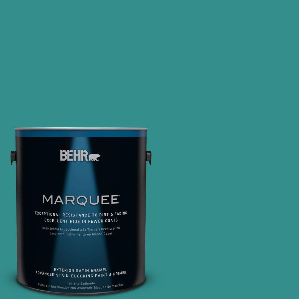 Home Decorators Collection #HDC-FL13-12 Taos Turquoise Exterior Paint