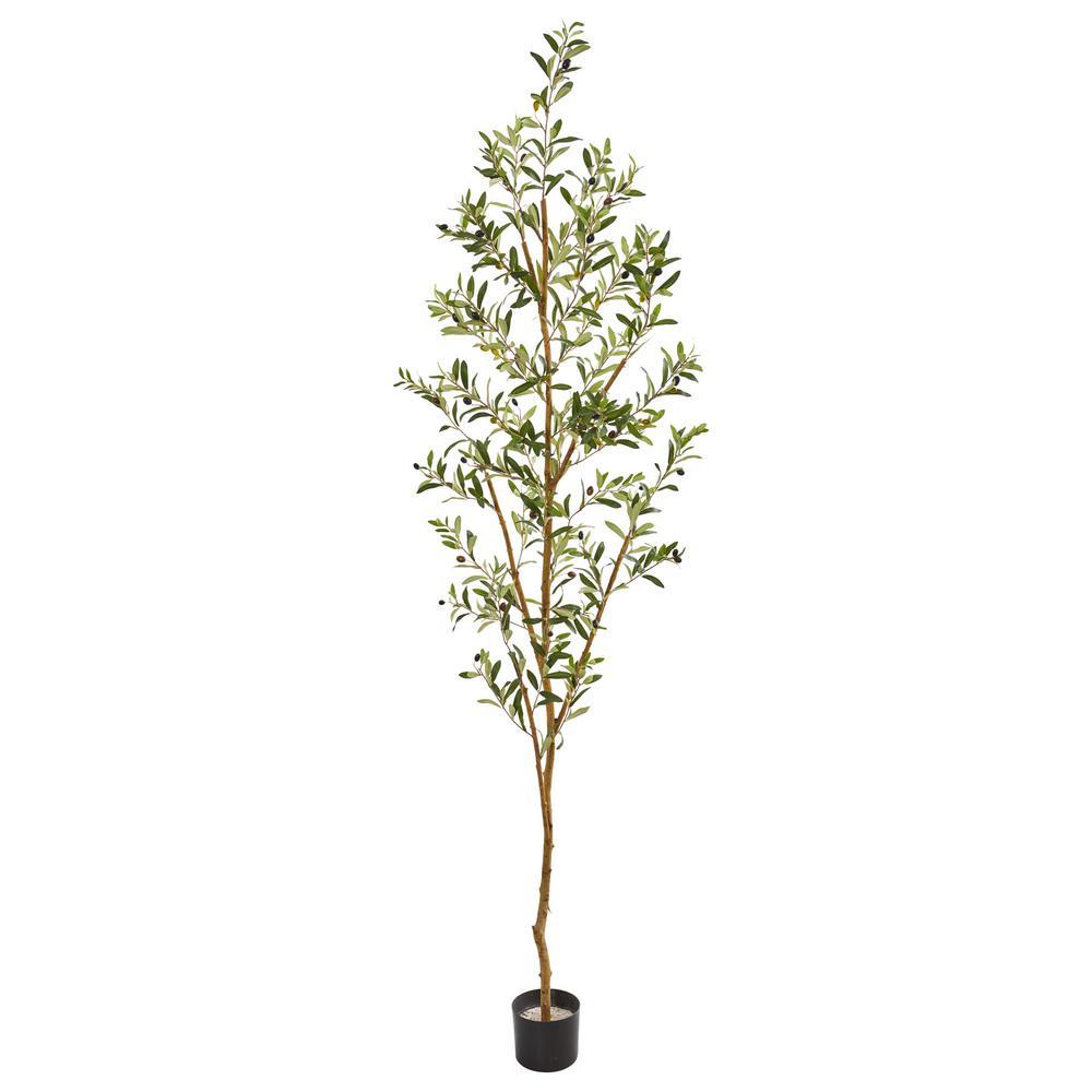 Indoor 82 in. Artificial Olive Tree