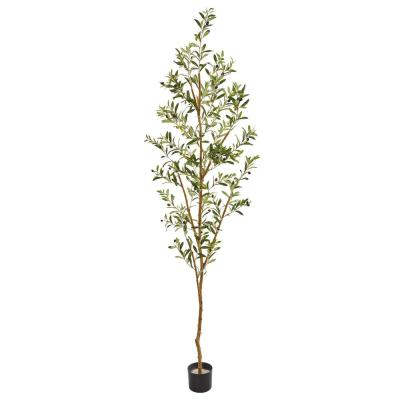 Indoor 82 in. Artificial Olive Tree