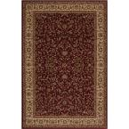 Persian Classics Kashan Red 8 ft. x 11 ft. Area Rug
