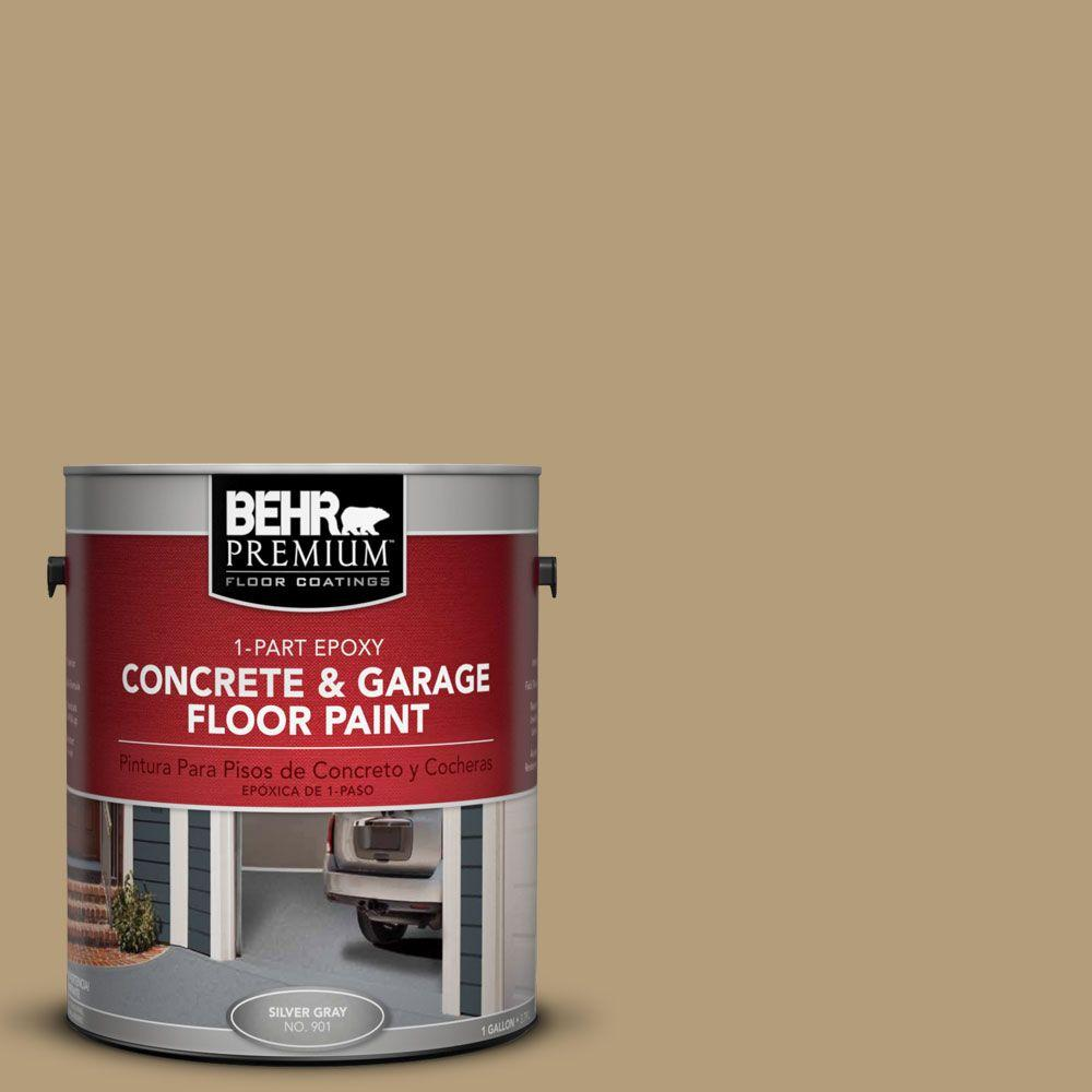 BEHR Premium 1-Gal. #PFC-28 Desert Sandstone 1-Part Epoxy Concrete and Garage Floor Paint