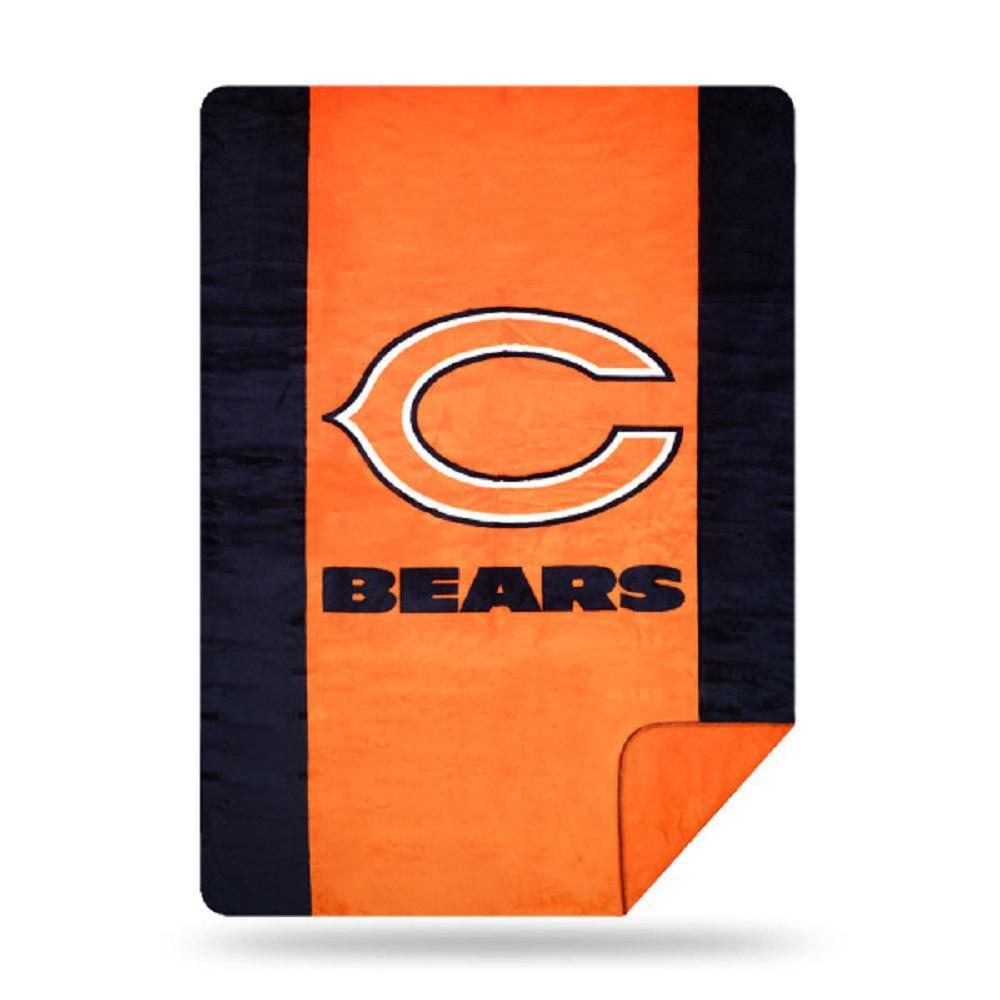 Bears Multi Color Acrylic Sliver Knit Throw