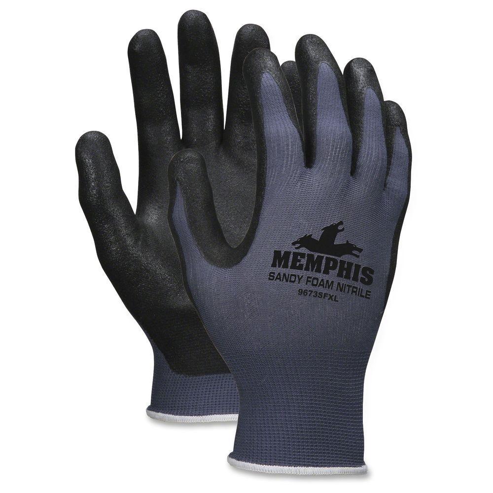 Shell Lined Protective Gloves (12 per Dozen), Black