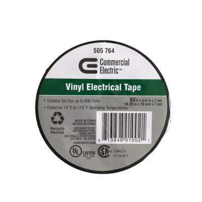 3/4 in. x 60 ft. Columbia Vinyl Electric Tape
