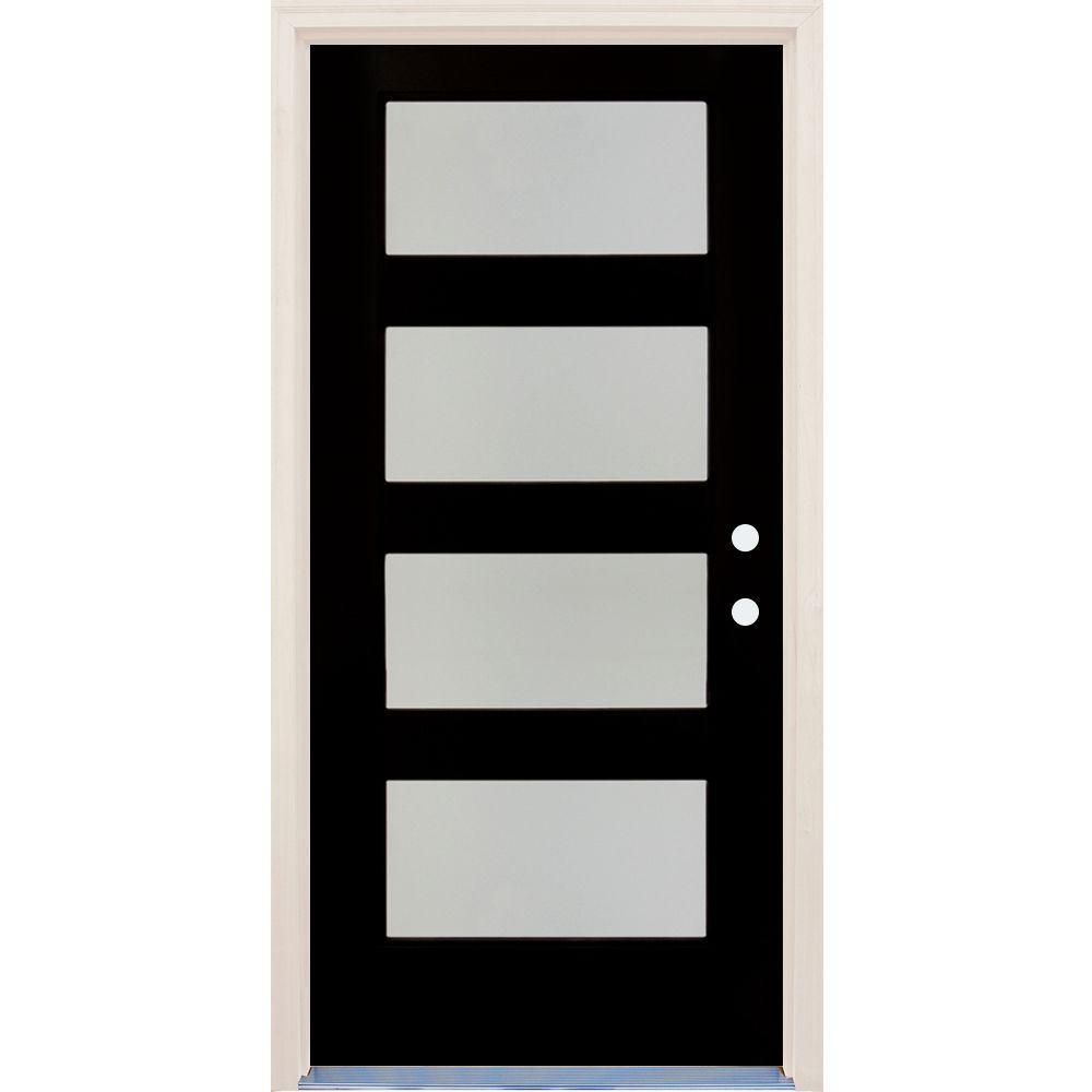 4 Lite Front Doors Exterior